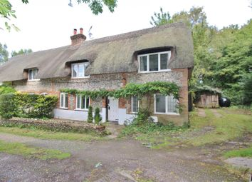 Thumbnail 3 bed cottage for sale in Stockbridge Road, North Waltham, Basingstoke