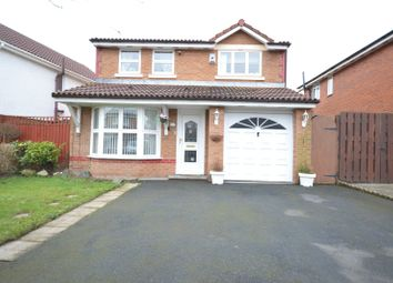 Thumbnail 3 bed detached house for sale in Willaston Drive, Halewood, Liverpool