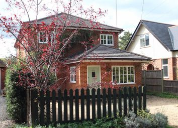 Thumbnail 4 bed detached house for sale in Victoria Road, Mortimer Common
