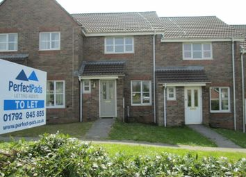 Thumbnail 2 bed terraced house to rent in Ffordd Y Wiwer, Tregof Village, Swansea Vale, Swansea