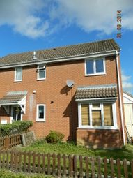 Thumbnail 1 bed semi-detached house to rent in Dart Close, St Ives