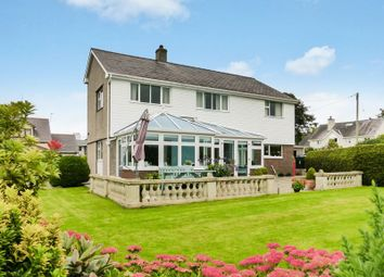 Thumbnail 4 bed detached house for sale in Caeathro, Caernarfon