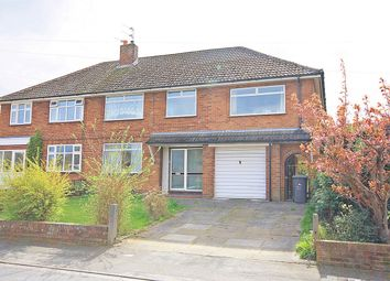 Thumbnail 5 bedroom semi-detached house for sale in Moore Avenue, Thelwall, Warrington