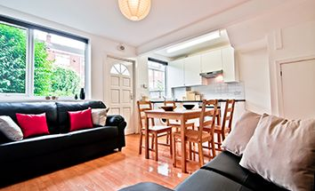 Thumbnail 3 bed terraced house to rent in Belle Vue Road, Leeds