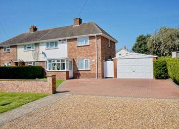 Thumbnail 3 bed semi-detached house for sale in Grafham Road, Ellington, Huntingdon.