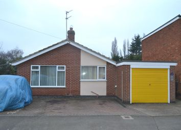 Thumbnail 2 bed detached bungalow for sale in Sullington Road, Shepshed, Leicestershire