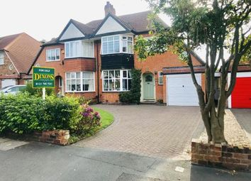 Thumbnail 3 bed semi-detached house for sale in Heaton Road, Solihull, West Midlands