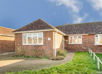 Thumbnail 2 bed semi-detached bungalow for sale in Mabledon Avenue, Ashford, Kent