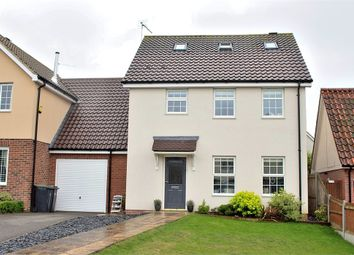 Thumbnail 4 bed link-detached house for sale in Great Easton, Dunmow, Essex