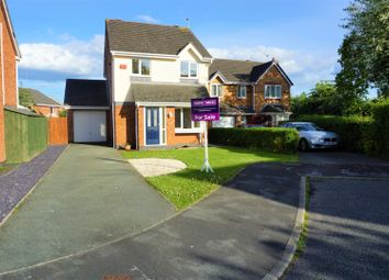 Thumbnail 3 bed detached house for sale in Thornhill Close, Chester