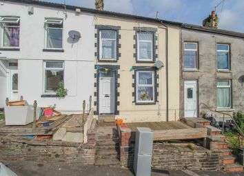 Thumbnail 3 bed terraced house for sale in School Street, Wattstown, Porth