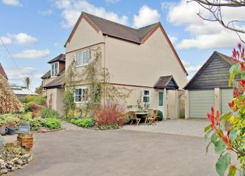 Thumbnail 4 bed detached house for sale in Upham Street, Upham, Hampshire