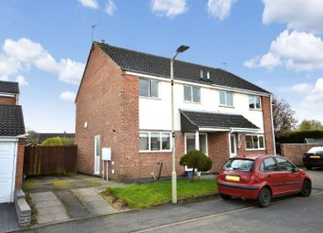 Thumbnail 3 bed semi-detached house for sale in Wexford Close, Oadby, Leicester