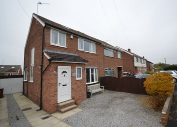 Thumbnail 3 bed semi-detached house for sale in Manor Crescent, Walton, Wakefield