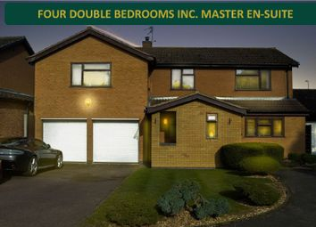 4 bed detached house for sale in Beaufort Close, Oadby, Leicester LE2