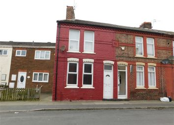 Thumbnail 2 bed end terrace house to rent in Moore Street, Bootle, Merseyside