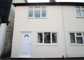 Thumbnail 3 bed semi-detached house for sale in The Street, Maldon