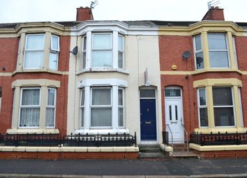 Thumbnail 3 bedroom terraced house to rent in Leopold Road, Kensington Fields, Liverpool