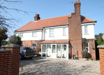 Thumbnail 4 bed detached house for sale in High Road West, Felixstowe
