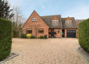 Thumbnail 4 bed detached house for sale in Arnold Road, Stoke Golding, Nuneaton