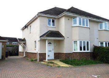 Thumbnail 2 bedroom flat for sale in Church Lane, Hilton, Huntingdon