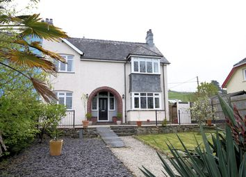 Thumbnail 4 bed semi-detached house for sale in Llwyngwril