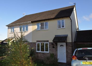 Thumbnail 3 bed semi-detached house to rent in Copley Drive, Coleford, Glos
