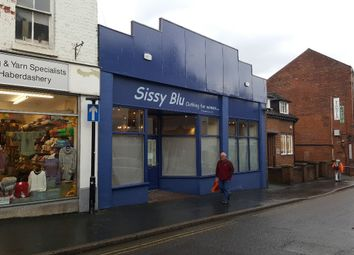 Thumbnail Retail premises for sale in Beatrice Street, Oswestry