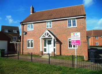 Thumbnail 4 bed detached house to rent in Rosemary Way, Downham Market