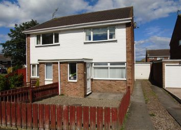 Thumbnail Semi-detached house for sale in Burnside, Ashington
