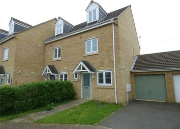 Thumbnail 3 bed end terrace house for sale in Boleyn Avenue, British Sugar, Peterborough, Cambridgeshire