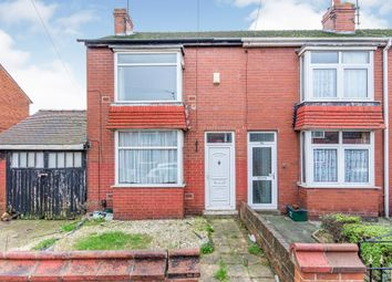 Thumbnail 3 bedroom end terrace house for sale in Grove Avenue, Doncaster