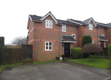 Thumbnail 2 bed town house for sale in Castle Mount, Chesterton, Newcastle