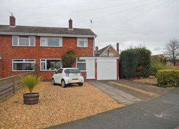 Thumbnail 3 bed semi-detached house for sale in Nansicles, Orton Longueville, Peterborough