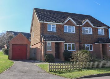 Thumbnail 3 bed semi-detached house for sale in Rowdell Cottages, Gascoigne Lane, Ropley, Alresford