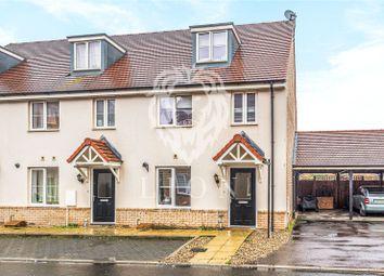 Thumbnail 4 bedroom end terrace house for sale in Barbados Row, Newton Leys, Milton Keynes