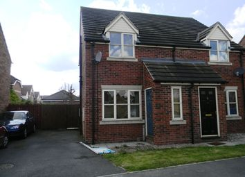 Thumbnail 2 bed semi-detached house to rent in Ferrymeadows Park, Hull