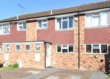 Thumbnail 3 bed terraced house for sale in York Close, Byfleet, Surrey