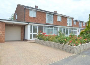 Thumbnail 3 bed semi-detached house to rent in Philip Avenue, Swanley