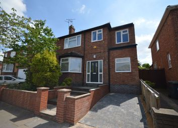 Thumbnail 4 bed semi-detached house for sale in Fairholme Road, West Knighton, Leicester