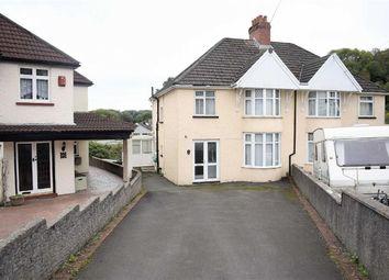 Thumbnail 3 bed semi-detached house for sale in Brooklyn Gardens, West Cross, Swansea