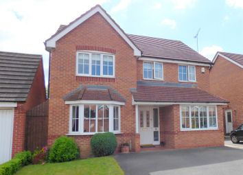 Thumbnail 5 bed detached house for sale in Aqua Place, Rugby