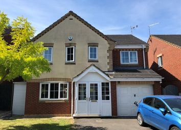 Thumbnail 4 bed detached house to rent in Fox Hollow, Oadby