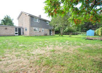 Thumbnail 3 bed detached house to rent in Aldermaston Road, Basingstoke