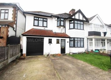 Thumbnail 4 bedroom semi-detached house to rent in Couchmore Avenue, Clayhall, Ilford