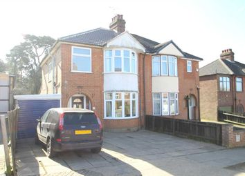 Thumbnail 3 bed semi-detached house for sale in Pine View Road, Ipswich