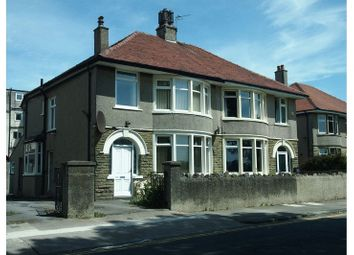 Thumbnail 1 bed flat for sale in Dallam Avenue, Morecambe