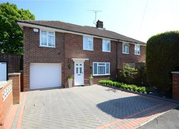 Thumbnail 3 bed semi-detached house for sale in Portland Gardens, Tilehurst, Reading