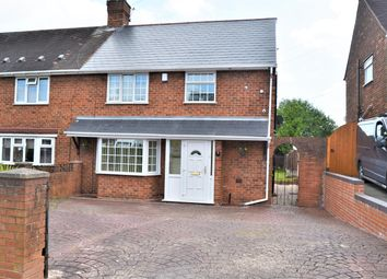 Thumbnail 3 bed semi-detached house for sale in Baker Avenue, Coseley, Bilston