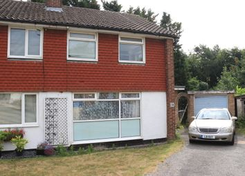 Thumbnail 3 bed semi-detached house to rent in Ongar Place, Addlestone